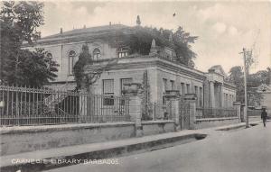 E46/ Barbados Foreign Postcard Caribbean c1910 Carnegie Library Building 4