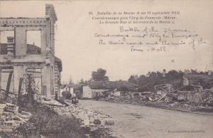 Bataille De La Marne, Courdemanges Pres Vitry-le-François (Marne), France, 1...