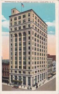 Independence Trust Company Building Charlotte North Carolina 1936