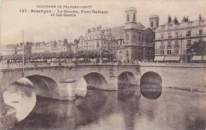 Le Doubs, Pont Battant Et Les Quais, Besancon (Doubs), France, 1900-1910s