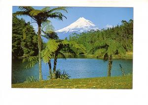 Lake Mangamahoe, Mount Egmont, New Plymouth, Taranaki, New Zealand,