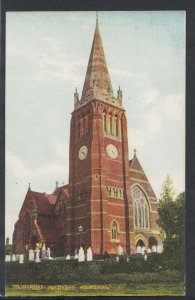 Hampshire Postcard - St Michael's Church, Lyndhurst   RS10485