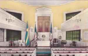 Pennsylvania Philadelphia Gloria Dei Old Swedes Church Albertype