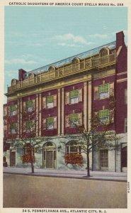 ATLANTIC CITY,New Jersey,30-40s;Catholic Daughters of America Court Stella Maris
