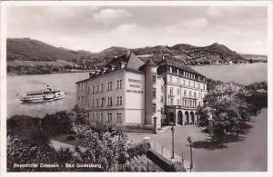 Germany Bad Godesberg Rheinhotel Dreesen Real Photo