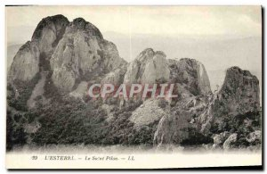 Old Postcard L & # 39Esterel The Holy Pilon