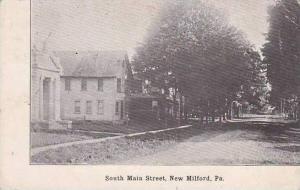 Pennsylvania New Milford South Main Street 1919