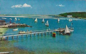 Massachusetts Cape Cod Sailing Races At Stage Harbor Chatham