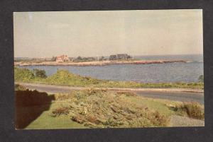 ME President George H W Bush Home Kennebunkport Maine Postcard Walkers Point PC