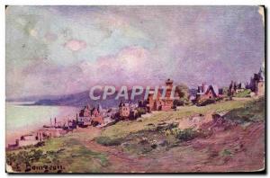 Old Postcard Villers Sur Mer