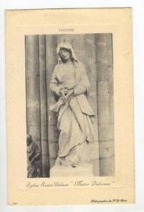 Eglise Saint-Urbain  Mater Dolorosa , Troyes, Aube, France, PU-1911