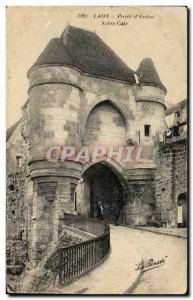 Old Postcard Laon Gate D Ardon Gate