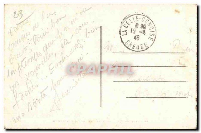 Old Postcard Crozant The Loop Creuse