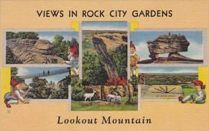 Views in Rock City Gardens Lookout Mountain Colorado