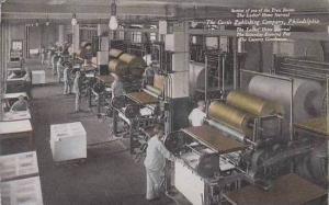 Pennsylvania Philadelphia The Curtis Publishing Press Room