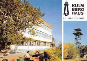 Kulm Turm Thueringerwald Verein Saalfeld Kulmberghaus Tower
