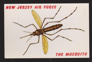 Comic Postcard - New Jersey Air Force - The Mosquito - Used