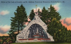 Shrine of Our Lady of Lourdes,St Anthony Franciscan Monastary,Kennebunkport,ME