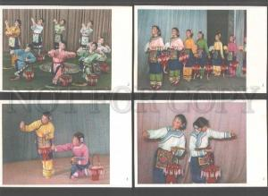 103207 CHINA DANCE congregating of tea collection of 8 old PC