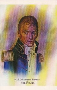 Major General Andrew Jackson During Creek-American Indian War