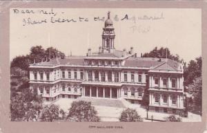 New York City City Hall 1908