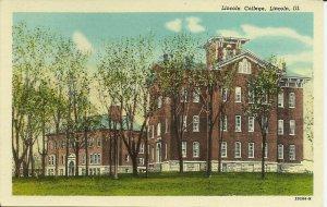 Lincoln, Illinois, Lincoln College