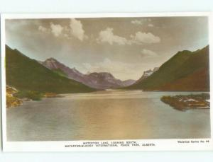 old rppc NICE VIEW Waterton Park - Near Lethbridge Alberta AB W0813