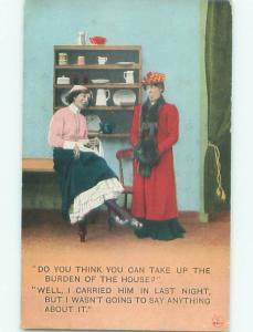 Bamforth COMIC SCENE Great Postcard AA9972