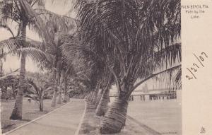 PALM BEACH, Florida, 1901-07; Path By The Lake : TUCK