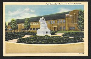 Street View Boys Town Field House Omaha Nebraska Unused c1950