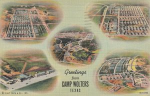 CAMP WOLTERS, Texas, PU-1943; 5-Aerial Views