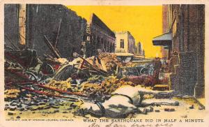 What the Earthquake did in Half a Minute, San Francisco Disaster 1906