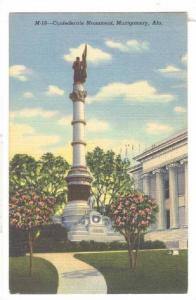 Confederate Monument, Montgomery, Alabama, PU-1948