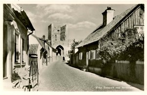 Sweden - Visby. North Gate        RPPC