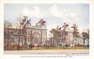 Jamestown Exposition Virginia #186~Food Products Building~Artist~1907 Postcard