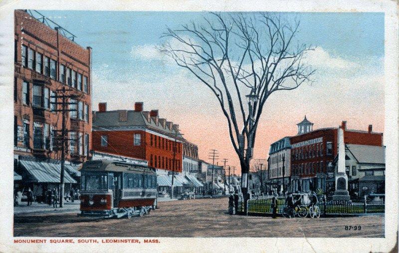 [ Williams ] US Massachusetts Leominster - Monument Square