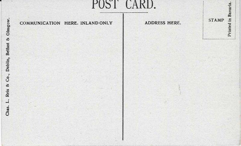 Vintage 1907-15 High Street & Albert Memorial, Belfast, Ireland Postcard
