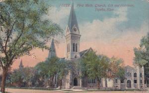 Kansas Topeka First Meth Church 6th And Harrison 1913
