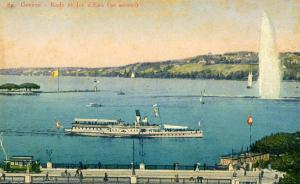 Switzerland - Geneva. Steamer France