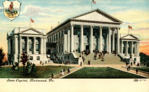 VA - Richmond. State Capitol