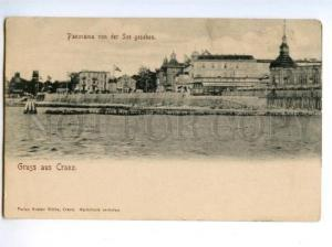 173895 RUSSIA Zelenogradsk GRUSS aus CRANZ Vintage postcard
