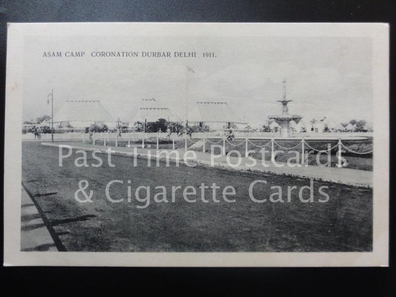 India: Asam Camp, Coronation Durbar Dehli c1911