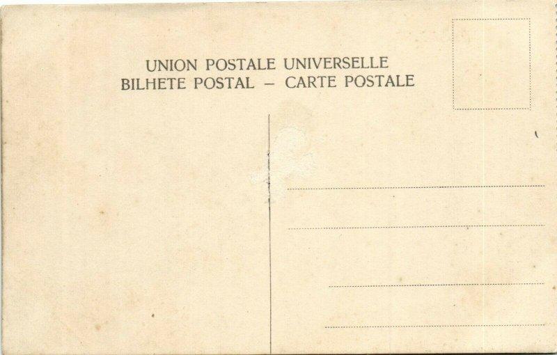 PC CPA CABO VERDE CAPE VERDE S. VICENTE VISTA PARCIAL Vintage Postcard (b26737)