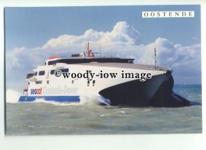 FE0626 - Hoverspeed Seacat Ferry - Diamant , built 1996 - postcard