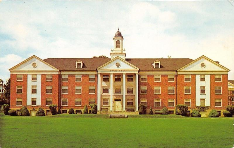 Williamsport Pennsylvania~Rich Hall @ Lycoming College~Girls Dormitory~1971 Pc