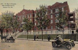 KANSAS CITY, Missouri, 1911; St. Mary's Hospital, 28th and Main Streets