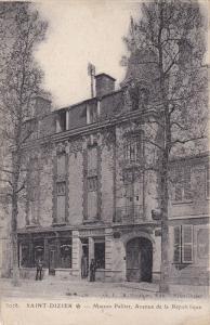 SAINT DIZIER, Haute Marne, France, 1900-1910's; Maison Pellier, Avenue De La ...