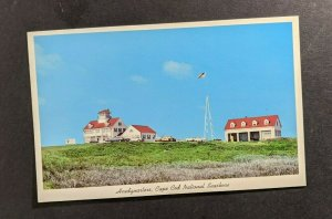 Mint Vintage Headquarters Cape Cod National Seashore Picture Postcard