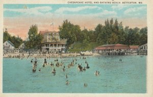 BETTERTON , Maryland, 1924 ; Chesapeake Hotel & Bathing Beach