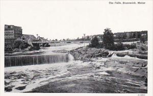 The Falls Brunswick Maine Curteich